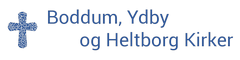 Logo Boddum, Ydby og Heltborg Kirker
